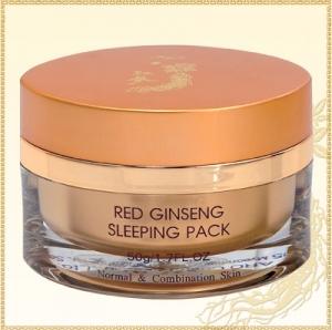 Red ginseng whitening sleeping