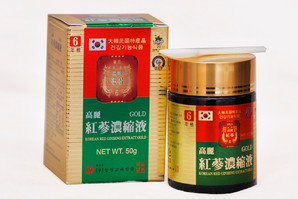 Экстракт корейского 6-летнего женьшеня «Korean Red Ginseng Extract Gold»